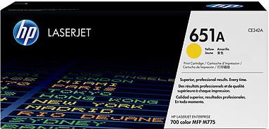 Тонер-картридж HP 651A (CE342A) - общий вид