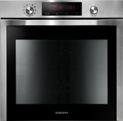Электрический духовой шкаф Samsung NV6584LNESR - вид спереди