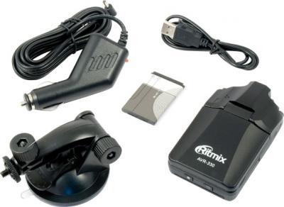 Автомобильный видеорегистратор Ritmix AVR-330 - комплектация