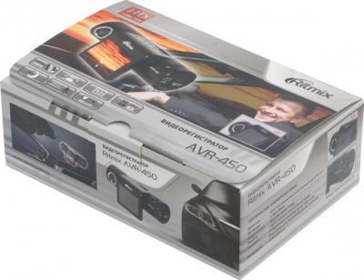 Автомобильный видеорегистратор Ritmix AVR-450 - коробка