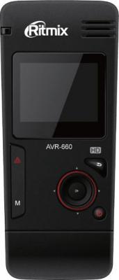Автомобильный видеорегистратор Ritmix AVR-660 - фронтальный вид