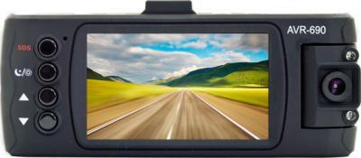 Автомобильный видеорегистратор Ritmix AVR-690 - дисплей