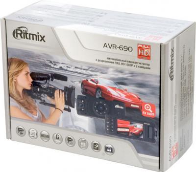 Автомобильный видеорегистратор Ritmix AVR-690 - коробка