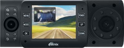 Автомобильный видеорегистратор Ritmix AVR-695 - фронтальный вид