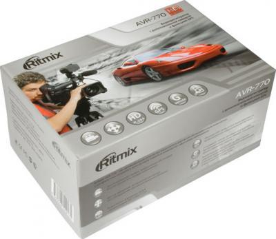 Автомобильный видеорегистратор Ritmix AVR-770 - коробка