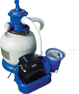 Песочный фильтр-насос для бассейна Intex 56674 - общий вид