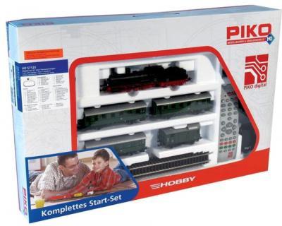 Железная дорога детская Piko Паровоз и 3 пассажирских вагона (57125) - упаковка