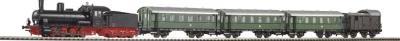 Железная дорога детская Piko Паровоз и 3 пассажирских вагона (57125) - общий вид