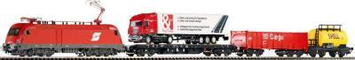 Железная дорога детская Piko Электровоз и 3 грузовых вагона (57170) - общий вид