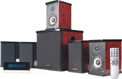 Мультимедиа акустика Microlab H 500 (дерево) - общий вид
