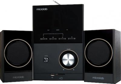 Мультимедиа акустика Microlab M223U (черный) - общий вид