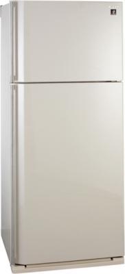 Холодильник с морозильником Sharp SJ-SC59PVBE - общий вид