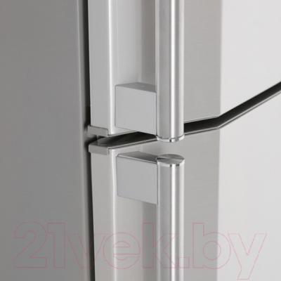 Холодильник с морозильником Sharp SJ-SC59PVSL
