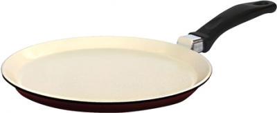 Блинная сковорода Виктория АЛА 220 (С222Пк) Cream-Brown - общий вид