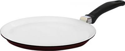 Блинная сковорода Виктория АЛА 220 (С222Пк) White-Brown - общий вид
