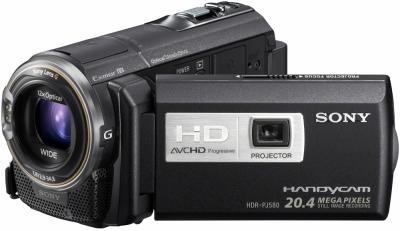 Видеокамера Sony HDR-PJ580E - общий вид