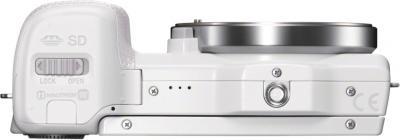 Беззеркальный фотоаппарат Sony Alpha NEX-5RK (White) - вид снизу