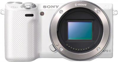 Беззеркальный фотоаппарат Sony Alpha NEX-5RK (White) - общий вид
