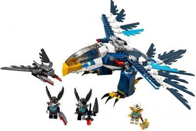 Конструктор Lego Chima Перехватчик Орла Эриса (70003) - общий вид