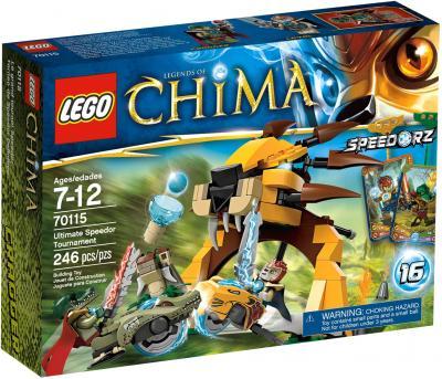 Конструктор Lego Chima Финальный Поединок (70115) - упаковка