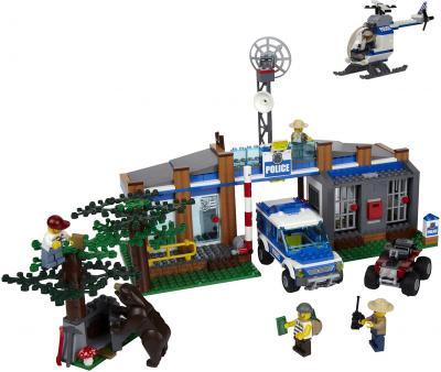 Конструктор Lego City Пост лесной полиции (4440) - общий вид