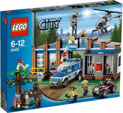 Конструктор Lego City Пост лесной полиции (4440) - упаковка