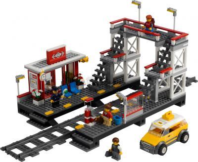 Конструктор Lego City Железодорожный вокзал (7937) - общий вид