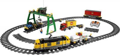 Конструктор Lego City Товарный поезд (7939) - общий вид