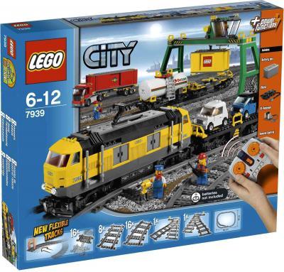 Конструктор Lego City Товарный поезд (7939) - упаковка