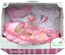 Кукла-младенец JC Toys 18560 - упаковка