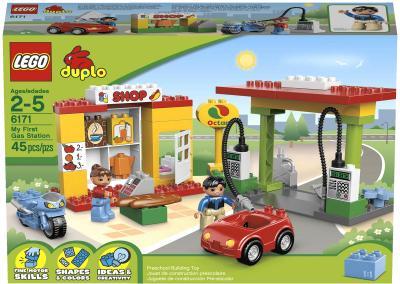 Конструктор Lego Duplo Заправочная станция (6171) - упаковка