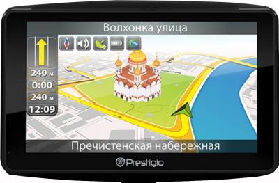GPS навигатор Prestigio GeoVision 7900 BTFMTV - вид спереди