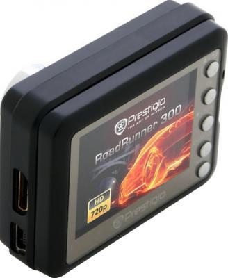 Автомобильный видеорегистратор Prestigio RoadRunner 300 - дисплей