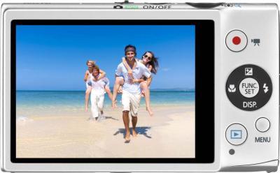 Компактный фотоаппарат Canon Ixus 125 HS Kit (Silver) - вид сзади