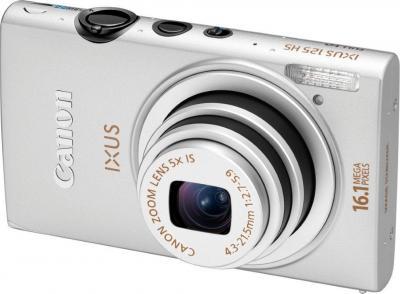 Компактный фотоаппарат Canon Ixus 125 HS Kit (Silver) - общий вид
