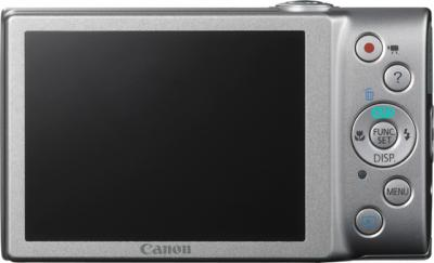 Компактный фотоаппарат Canon PowerShot A4000 IS Silver (microSD 4Gb) + Чехол - вид сзади