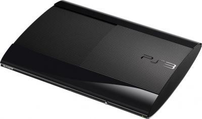 Игровая приставка Sony Playstation 3 (CECH-4008C) + игры GT5 Academy Ed/U3 GOTY - общий вид