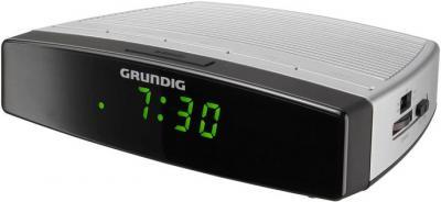 Радиочасы Grundig Sonoclock 390 - вполоборота