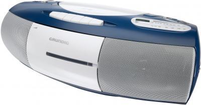 Магнитола Grundig RRCD 1350 MP3 Blue - общий вид