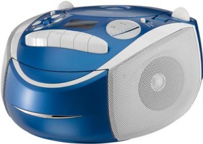 Магнитола Grundig RRCD 2700 MP3 (Neos Blue) - общий вид