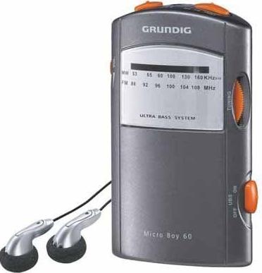 Радиоприемник Grundig Micro 60 Como/Silver - общий вид