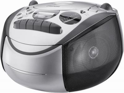 Магнитола Grundig RRCD 2700 MP3 (Silver-Black) - общий вид
