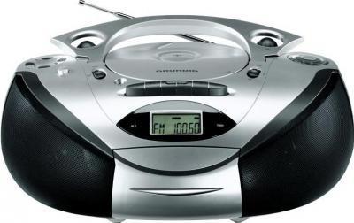 Магнитола Grundig RRCD 3700 MP3 Silver-Black - общий вид