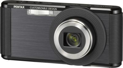 Компактный фотоаппарат Pentax Optio LS465 (Sapphire-Black) - общий вид