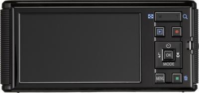 Компактный фотоаппарат Pentax Optio LS465 (Sapphire-Black) - вид сзади