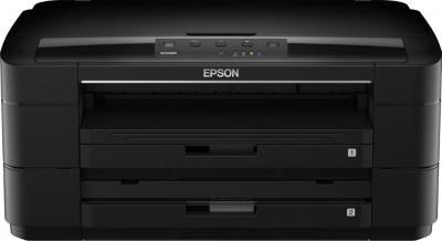 Принтер Epson WorkForce WF-7015 - фронтальный вид
