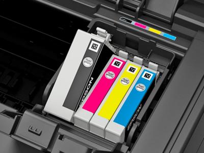 Принтер Epson WorkForce WF-7015 - слот для картриджей