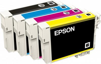 Принтер Epson WorkForce WF-7015 - картриджи
