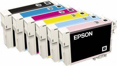 Принтер Epson Stylus Photo P50 - картриджи