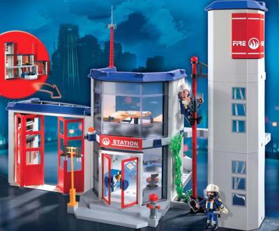 Игровой набор Playmobil Пожарная станция 4819 - общий вид